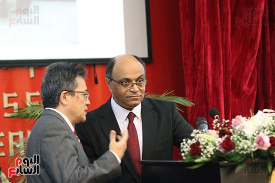 صور الصالون الصينى المنعقد فى السفارة تحت عنوان ذكرياتى مع الصين (11)