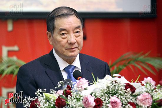 صور الصالون الصينى المنعقد فى السفارة تحت عنوان ذكرياتى مع الصين (2)
