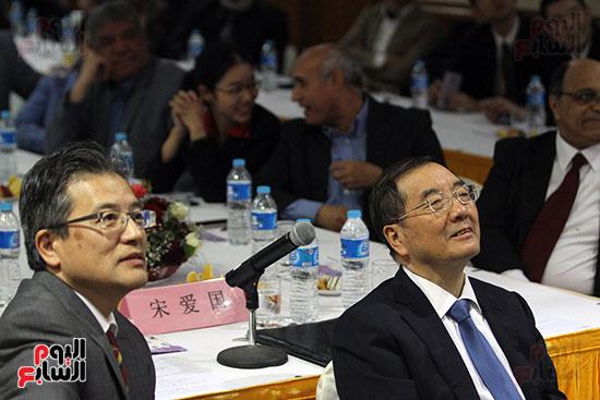 صور الصالون الصينى المنعقد فى السفارة تحت عنوان ذكرياتى مع الصين (10)