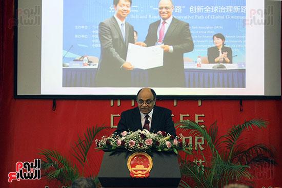 صور الصالون الصينى المنعقد فى السفارة تحت عنوان ذكرياتى مع الصين (20)