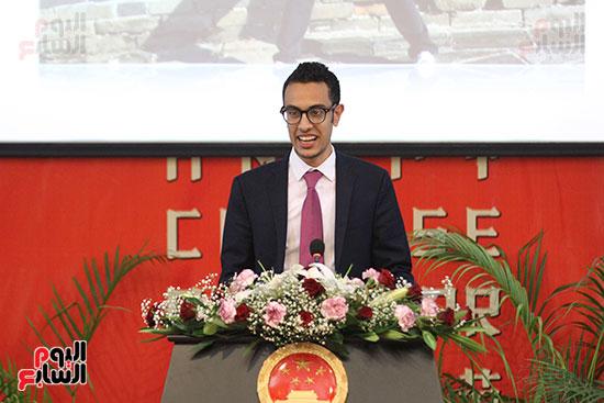 صور الصالون الصينى المنعقد فى السفارة تحت عنوان ذكرياتى مع الصين (46)