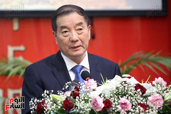 صور الصالون الصينى المنعقد فى السفارة تحت عنوان ذكرياتى مع الصين (1)