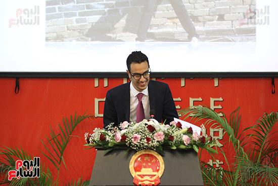 صور الصالون الصينى المنعقد فى السفارة تحت عنوان ذكرياتى مع الصين (48)