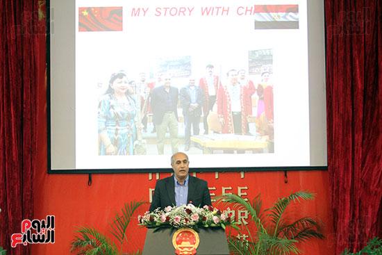 صور الصالون الصينى المنعقد فى السفارة تحت عنوان ذكرياتى مع الصين (28)