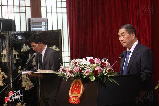 صور الصالون الصينى المنعقد فى السفارة تحت عنوان ذكرياتى مع الصين (58)