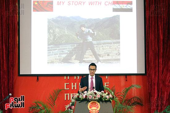 صور الصالون الصينى المنعقد فى السفارة تحت عنوان ذكرياتى مع الصين (45)