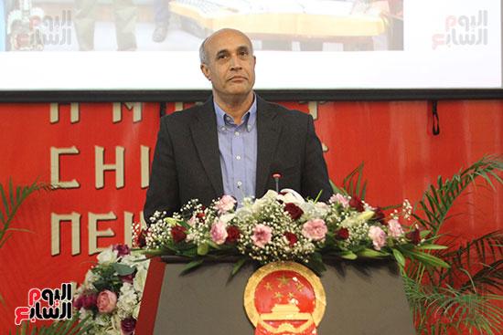 صور الصالون الصينى المنعقد فى السفارة تحت عنوان ذكرياتى مع الصين (26)