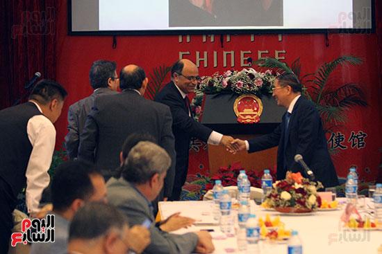 صور الصالون الصينى المنعقد فى السفارة تحت عنوان ذكرياتى مع الصين (22)