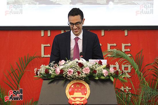 صور الصالون الصينى المنعقد فى السفارة تحت عنوان ذكرياتى مع الصين (49)