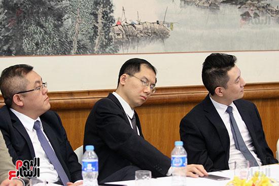 صور الصالون الصينى المنعقد فى السفارة تحت عنوان ذكرياتى مع الصين (31)