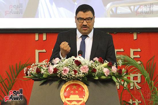 صور الصالون الصينى المنعقد فى السفارة تحت عنوان ذكرياتى مع الصين (36)