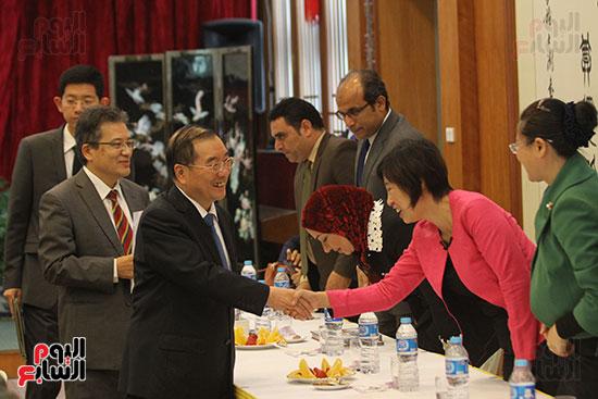 صور الصالون الصينى المنعقد فى السفارة تحت عنوان ذكرياتى مع الصين (65)