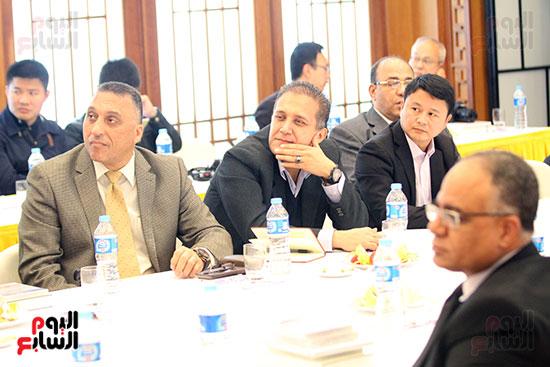 صور الصالون الصينى المنعقد فى السفارة تحت عنوان ذكرياتى مع الصين (14)