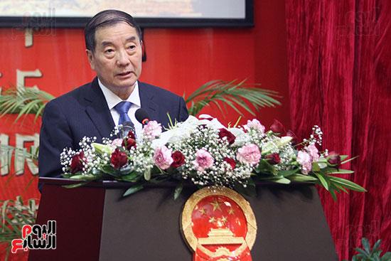 صور الصالون الصينى المنعقد فى السفارة تحت عنوان ذكرياتى مع الصين (4)