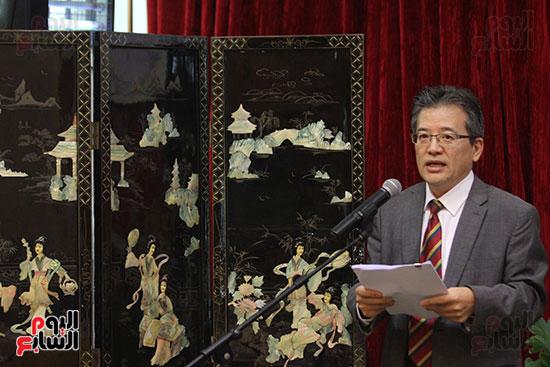 صور الصالون الصينى المنعقد فى السفارة تحت عنوان ذكرياتى مع الصين (69)