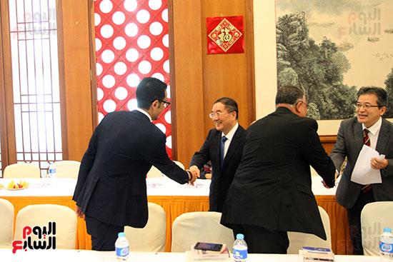 صور الصالون الصينى المنعقد فى السفارة تحت عنوان ذكرياتى مع الصين (51)