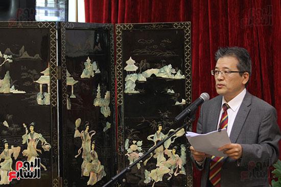 صور الصالون الصينى المنعقد فى السفارة تحت عنوان ذكرياتى مع الصين (68)