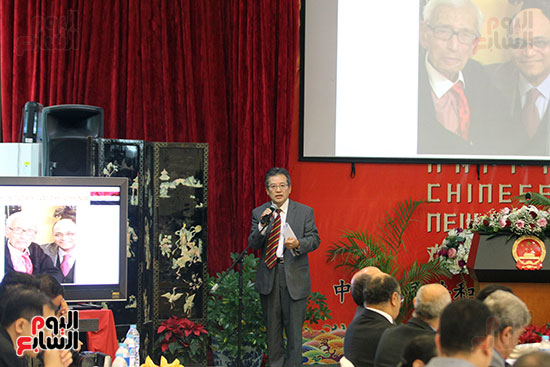 صور الصالون الصينى المنعقد فى السفارة تحت عنوان ذكرياتى مع الصين (24)