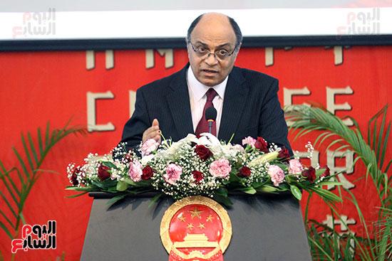 صور الصالون الصينى المنعقد فى السفارة تحت عنوان ذكرياتى مع الصين (17)
