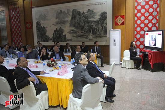 صور الصالون الصينى المنعقد فى السفارة تحت عنوان ذكرياتى مع الصين (60)
