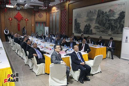 صور الصالون الصينى المنعقد فى السفارة تحت عنوان ذكرياتى مع الصين (61)