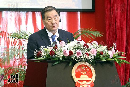 صور الصالون الصينى المنعقد فى السفارة تحت عنوان ذكرياتى مع الصين (3)