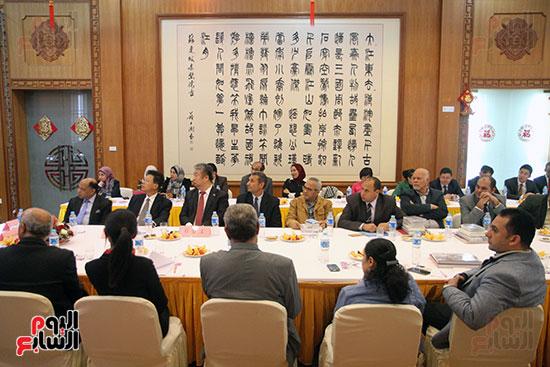 صور الصالون الصينى المنعقد فى السفارة تحت عنوان ذكرياتى مع الصين (53)