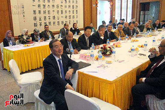 صور الصالون الصينى المنعقد فى السفارة تحت عنوان ذكرياتى مع الصين (63)
