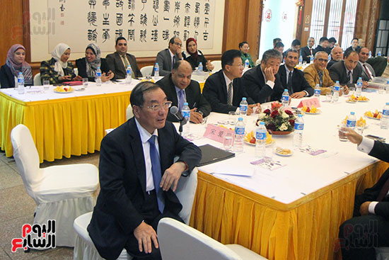 صور الصالون الصينى المنعقد فى السفارة تحت عنوان ذكرياتى مع الصين (62)