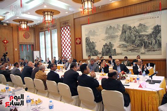 صور الصالون الصينى المنعقد فى السفارة تحت عنوان ذكرياتى مع الصين (59)