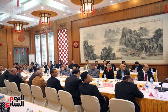 صور الصالون الصينى المنعقد فى السفارة تحت عنوان ذكرياتى مع الصين (57)