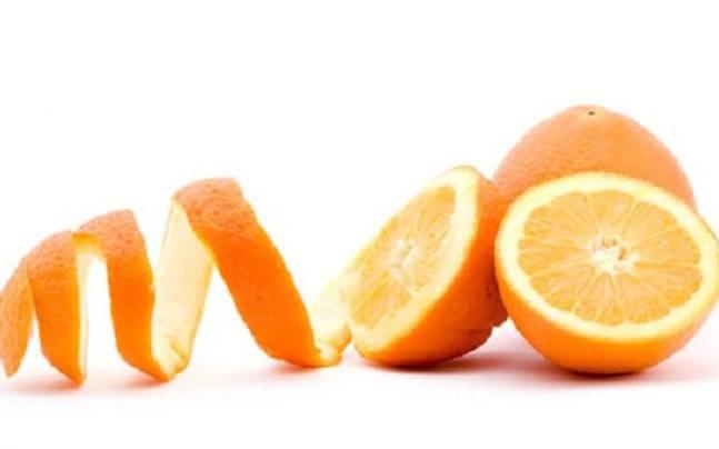 قشر البرتقال