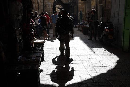 انتشار قوات الاحتلال فى شوارع المدن الفلسطينية