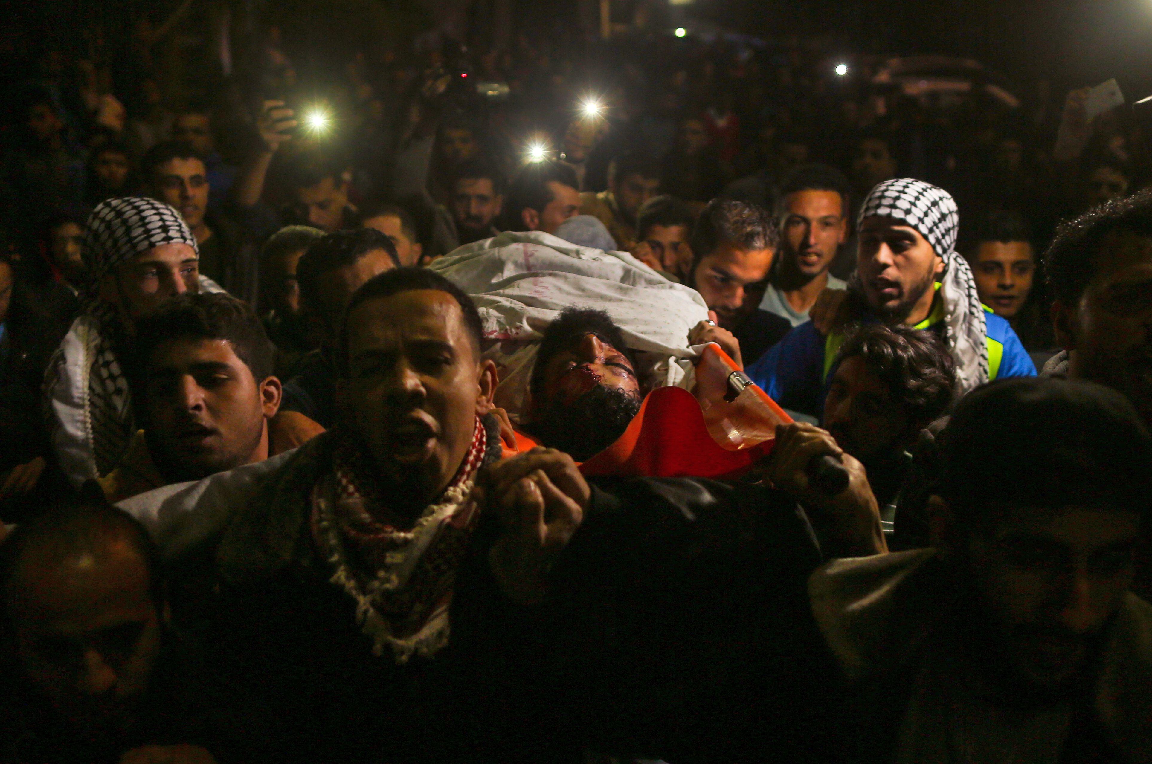 الشهيد الفلسطينى إبراهيم أبو ثريا