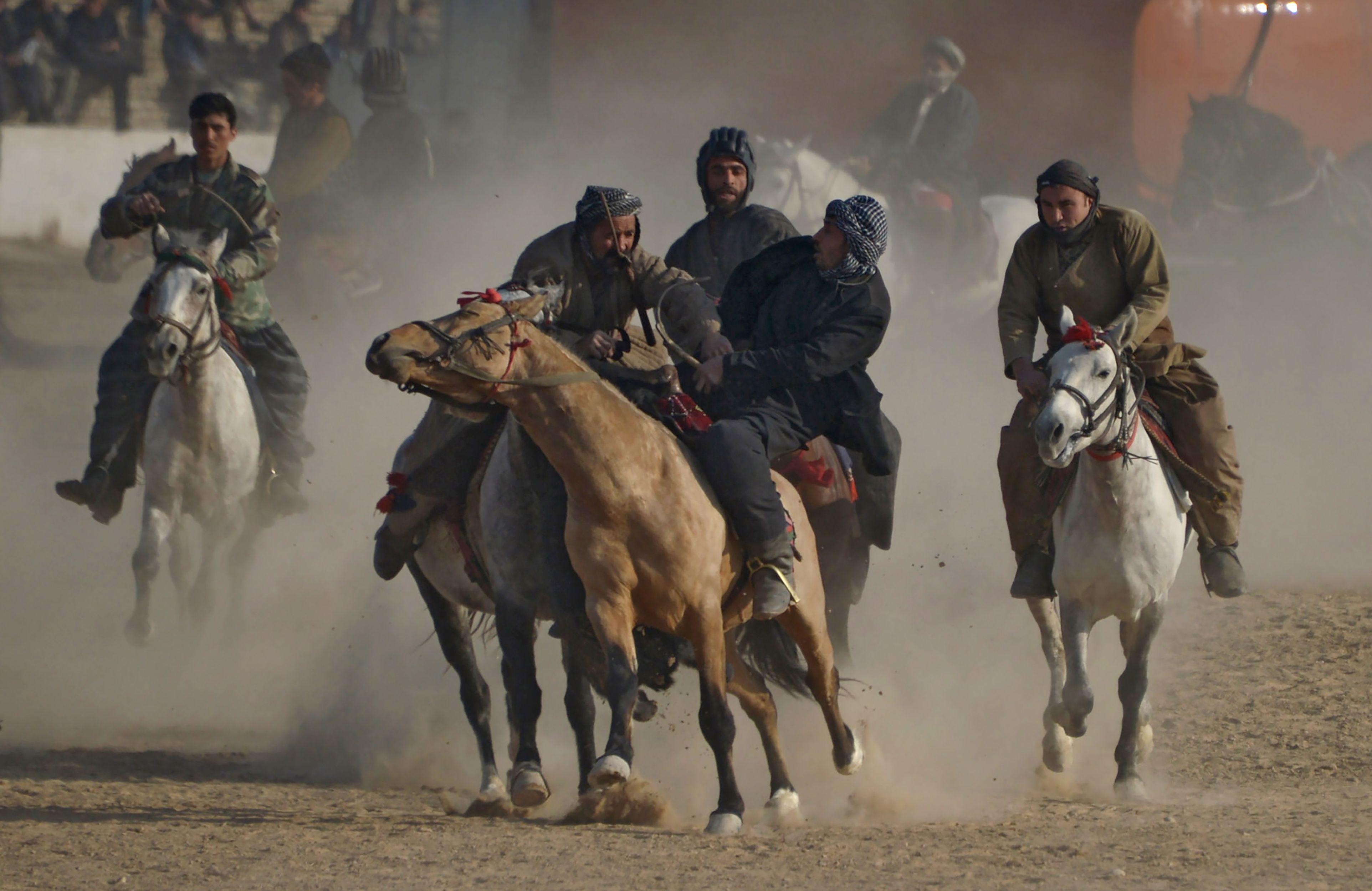 رياضة البوزكاشى فى أفغانستان