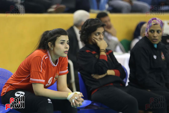 افتتاح البطولة العربية لأندية سيدات الطائرة (11)