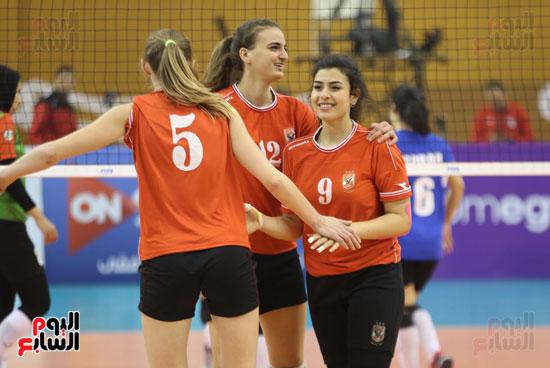 افتتاح البطولة العربية لأندية سيدات الطائرة (46)