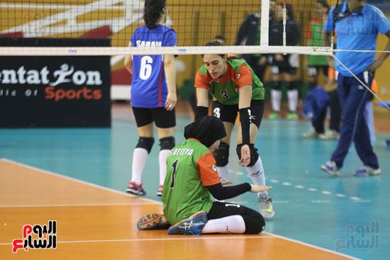 افتتاح البطولة العربية لأندية سيدات الطائرة (16)