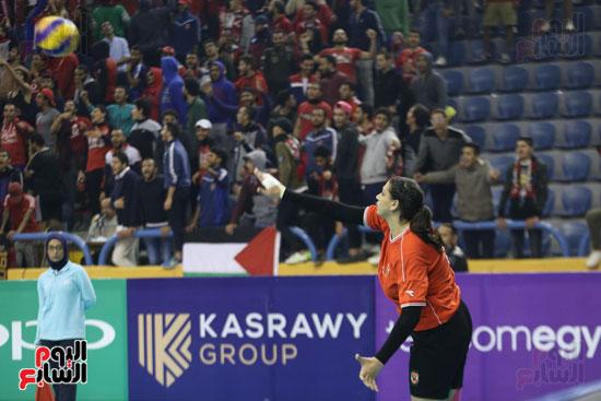 افتتاح البطولة العربية لأندية سيدات الطائرة (45)