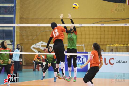 افتتاح البطولة العربية لأندية سيدات الطائرة (43)