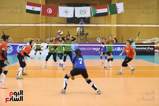 افتتاح البطولة العربية لأندية سيدات الطائرة (34)