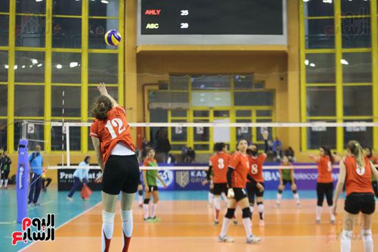 افتتاح البطولة العربية لأندية سيدات الطائرة (53)