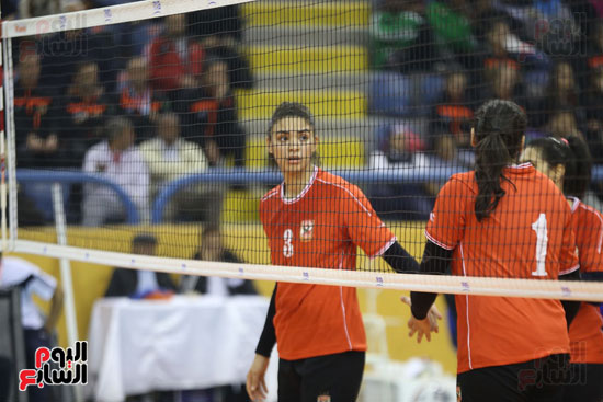 افتتاح البطولة العربية لأندية سيدات الطائرة (49)