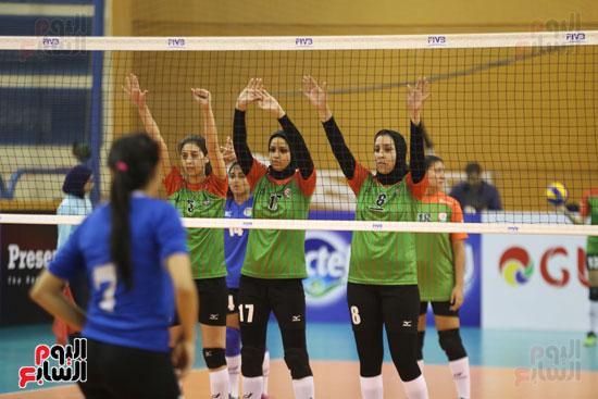 افتتاح البطولة العربية لأندية سيدات الطائرة (42)