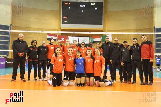 افتتاح البطولة العربية لأندية سيدات الطائرة (41)