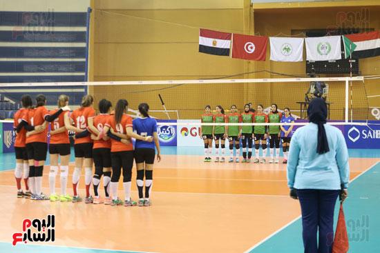 افتتاح البطولة العربية لأندية سيدات الطائرة (20)