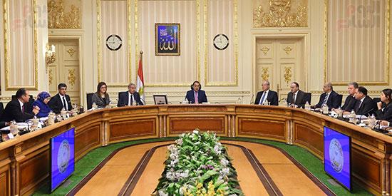 صور مصطفى مدبولى   (1رئيس الوزراء يرأس اجتماعا لمتابعة مشروعات التنمية فى الصعيد) (3)