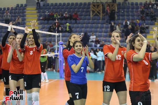 افتتاح البطولة العربية لأندية سيدات الطائرة (5)