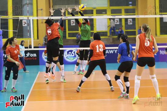 افتتاح البطولة العربية لأندية سيدات الطائرة (28)