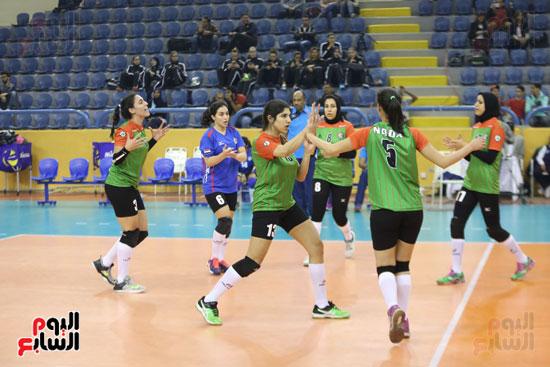 افتتاح البطولة العربية لأندية سيدات الطائرة (37)
